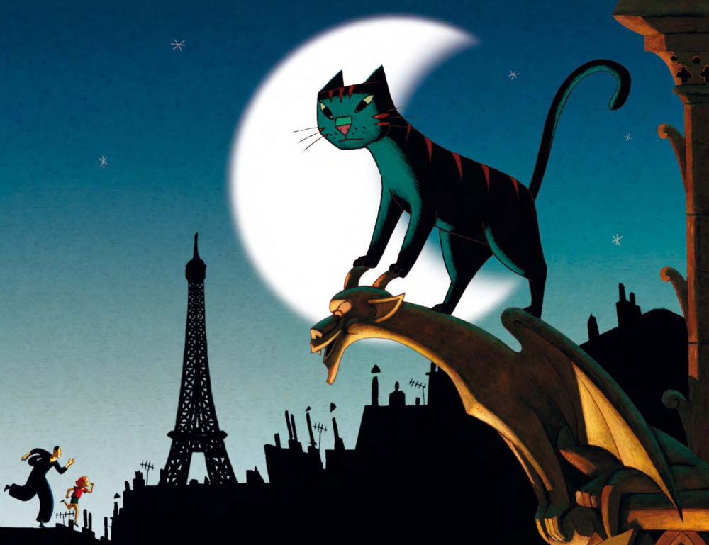 Image result for a cat in paris